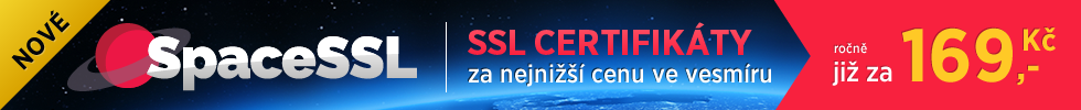 SSL certifikát SpaceSSL Space SSL